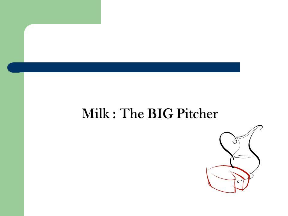 Milk : The BIG Pitcher