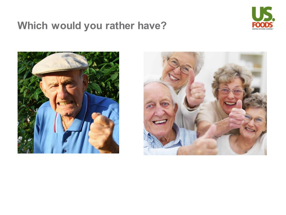 Which would you rather have?