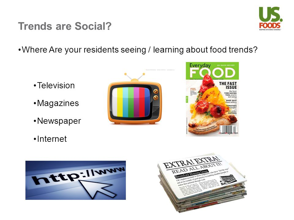 Food Trends Hey Chef What Food Trends are HOT right now.