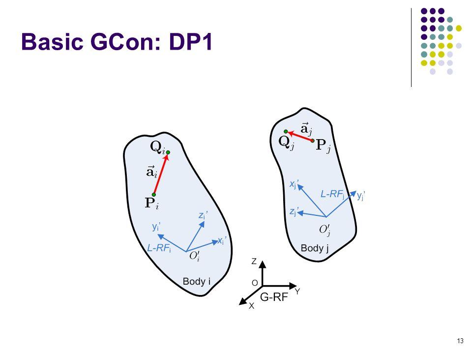 Basic GCon: DP1 13