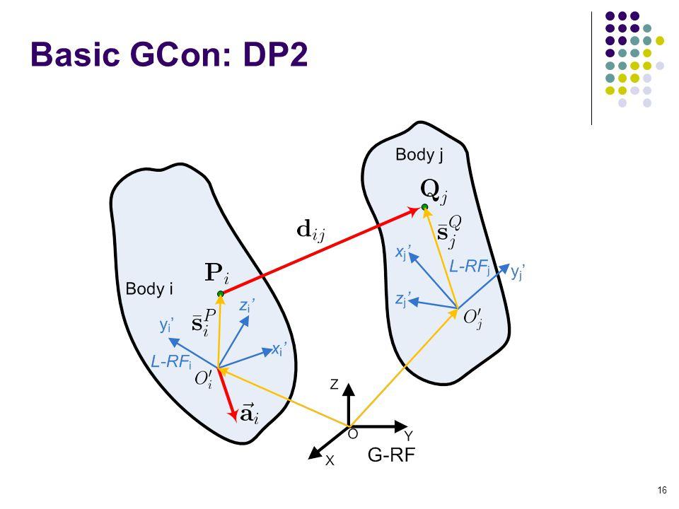 Basic GCon: DP2 16