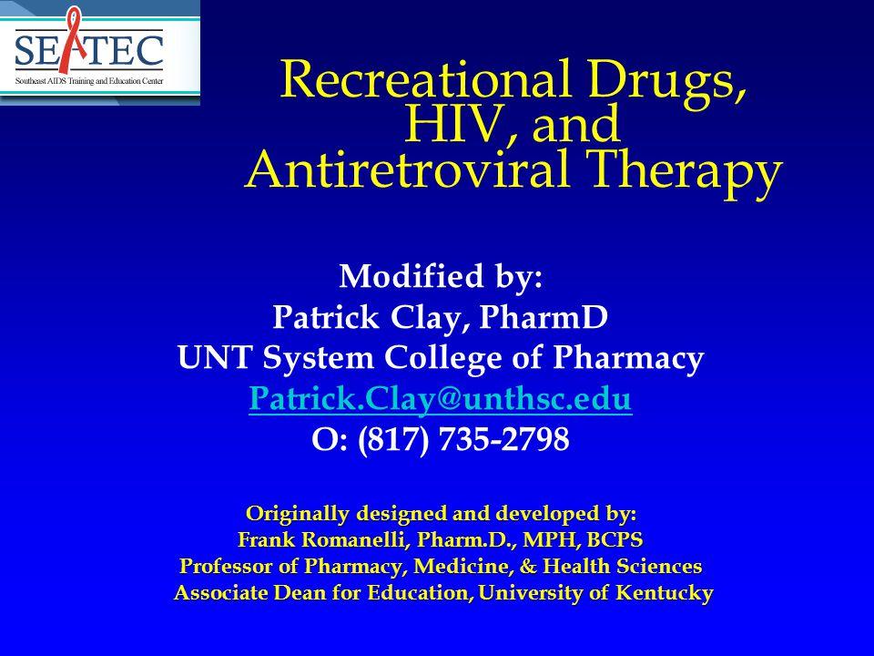Recreational Drug Use Mattison AM, et al.Journal of Substance Abuse 2001.