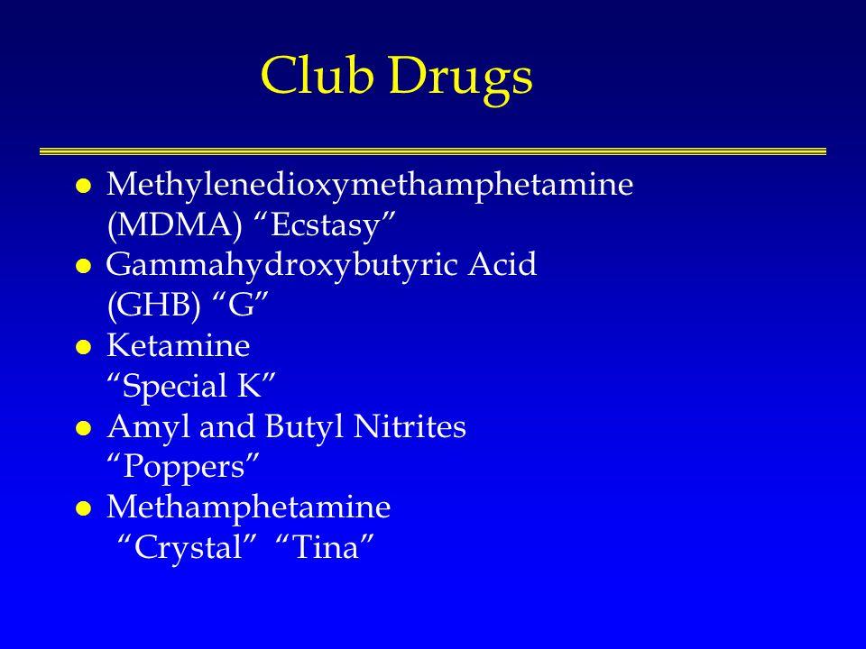 Recreational Drug Use (MA) Halkitis PN, et al.J Urban Health 2005; 18-25.