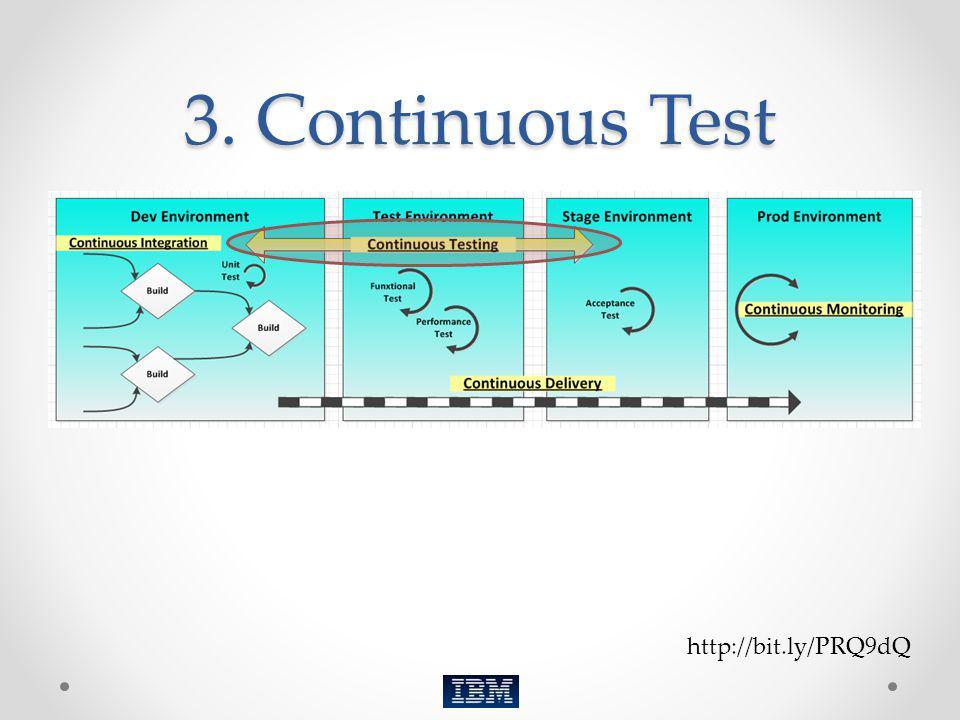 3. Continuous Test http://bit.ly/PRQ9dQ