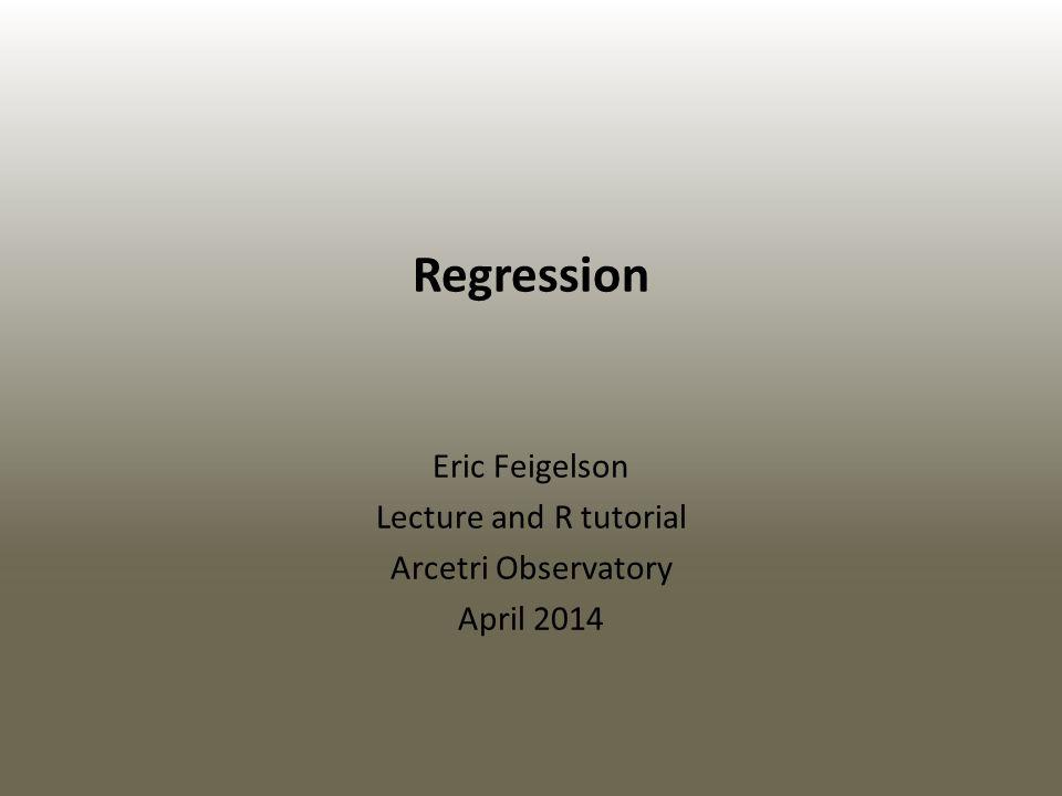 Regression vs.