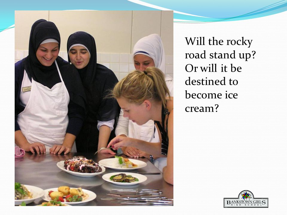 Will the rocky road stand up Or will it be destined to become ice cream