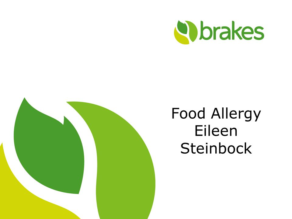 1 Food Allergy Eileen Steinbock