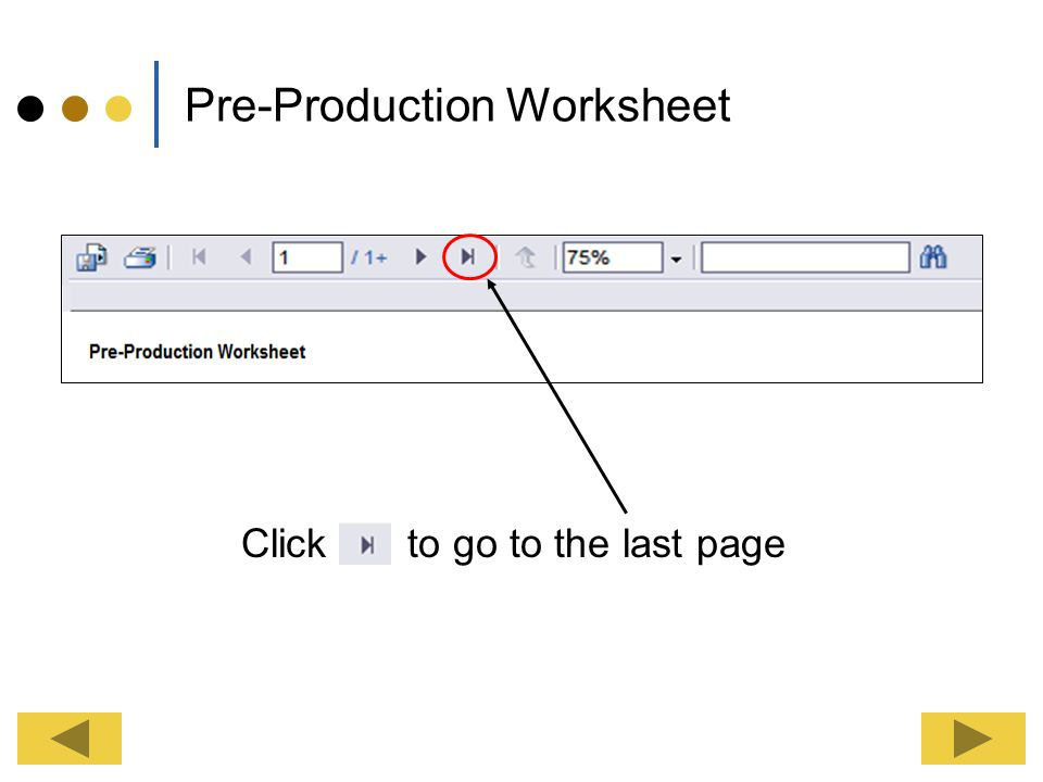 Pre-Production Worksheet Depending upon your menu; the Ingredient Used and Non-Recipe lists (Pick Sheets) can be on the last three pages.