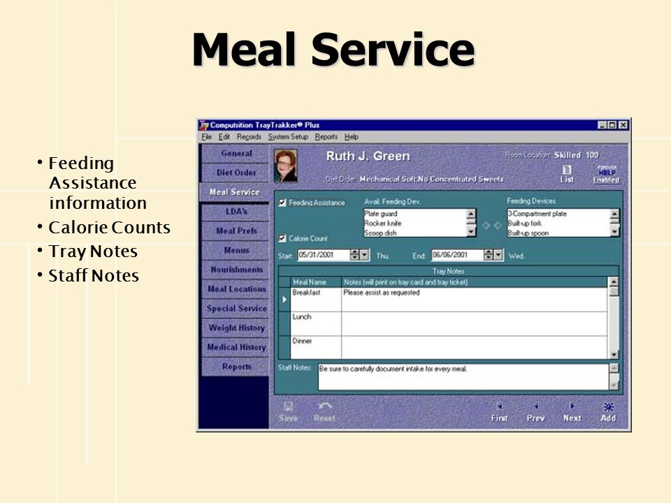 Tray Tickets Customize tray tickets as needed Items print on tray tickets in trayline station order