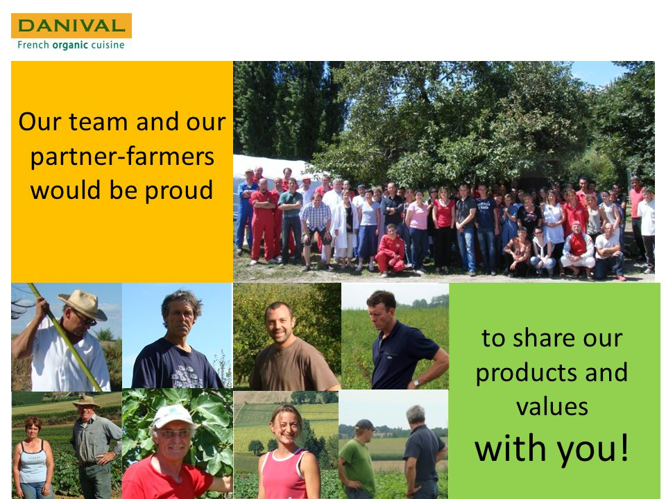 Our team and our partner-farmers would be proud to share our products and values with you!