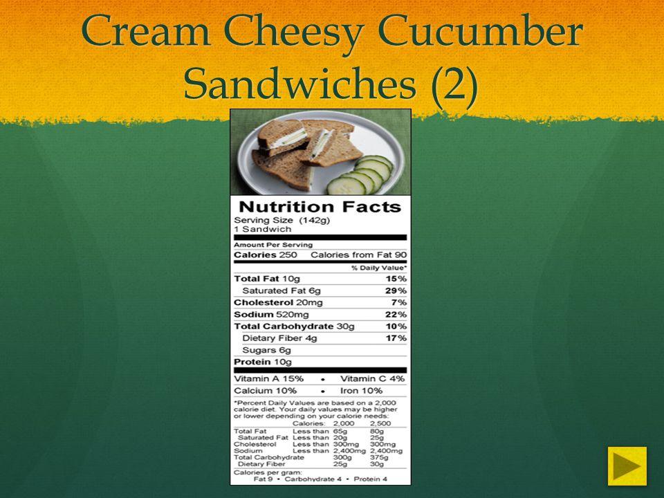 Cream Cheesy Cucumber Sandwiches (2)
