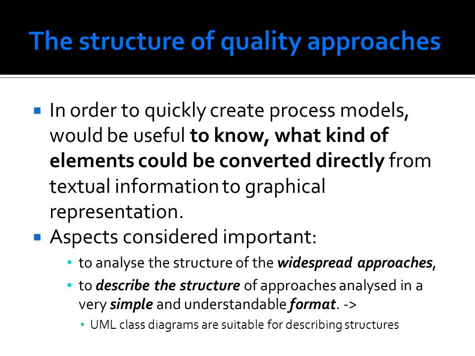 In order to quickly create process models, would be useful to know, what kind of elements could be converted directly from textual information to grap