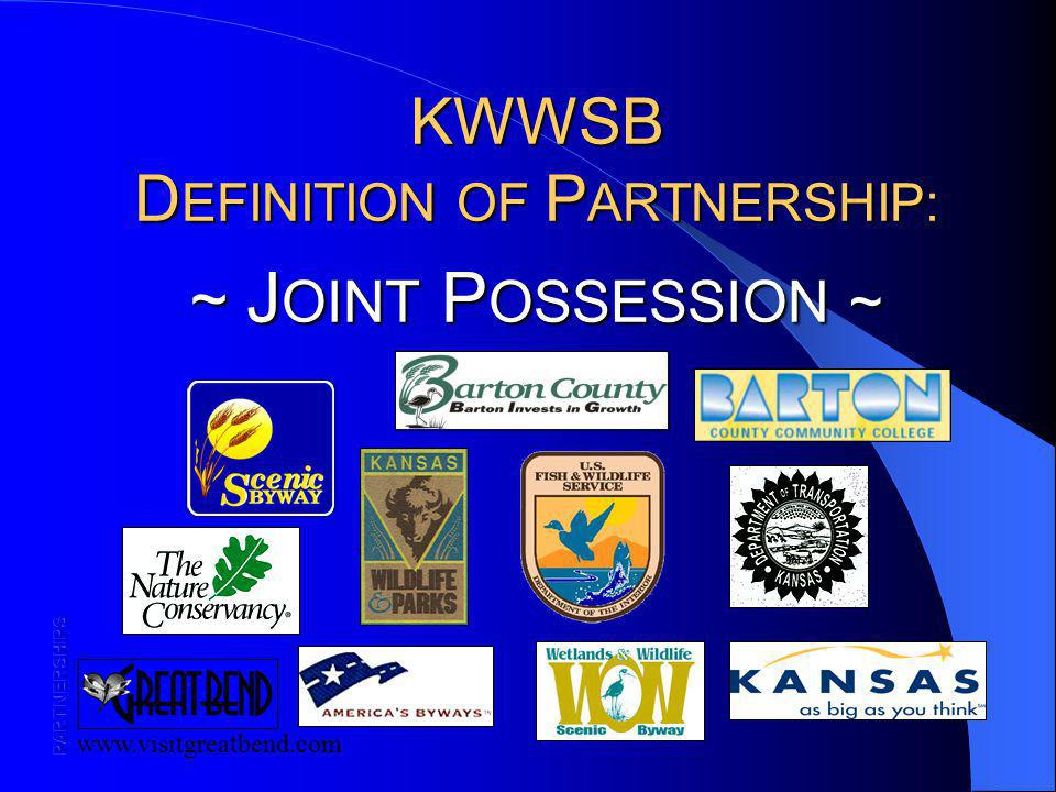 KWWSB D EFINITION OF P ARTNERSHIP: ~ J OINT P OSSESSION ~