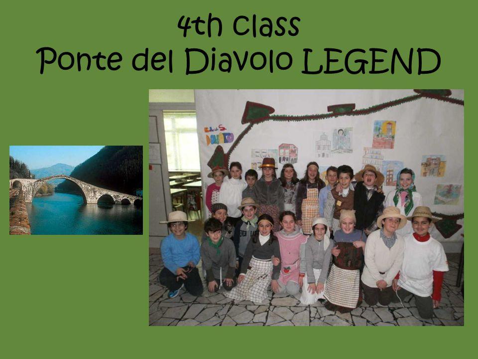 4th class Ponte del Diavolo LEGEND
