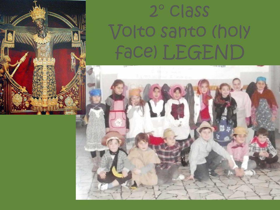 2° class Volto santo (holy face) LEGEND