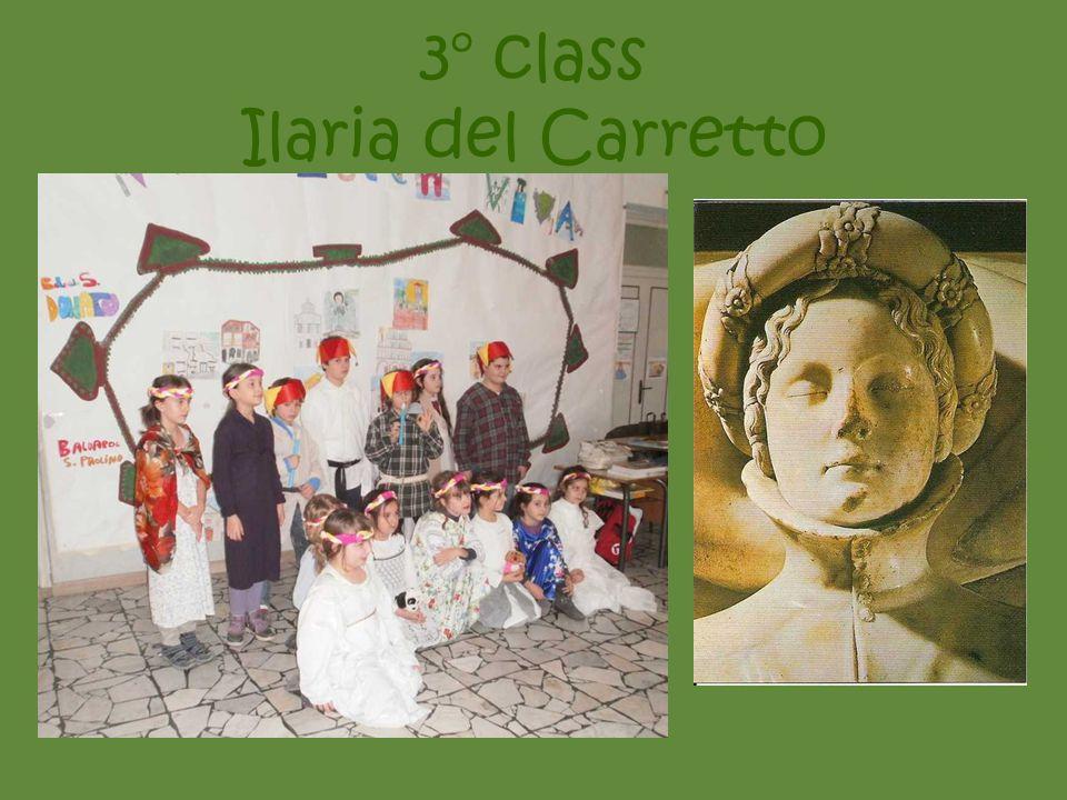 3° class Ilaria del Carretto