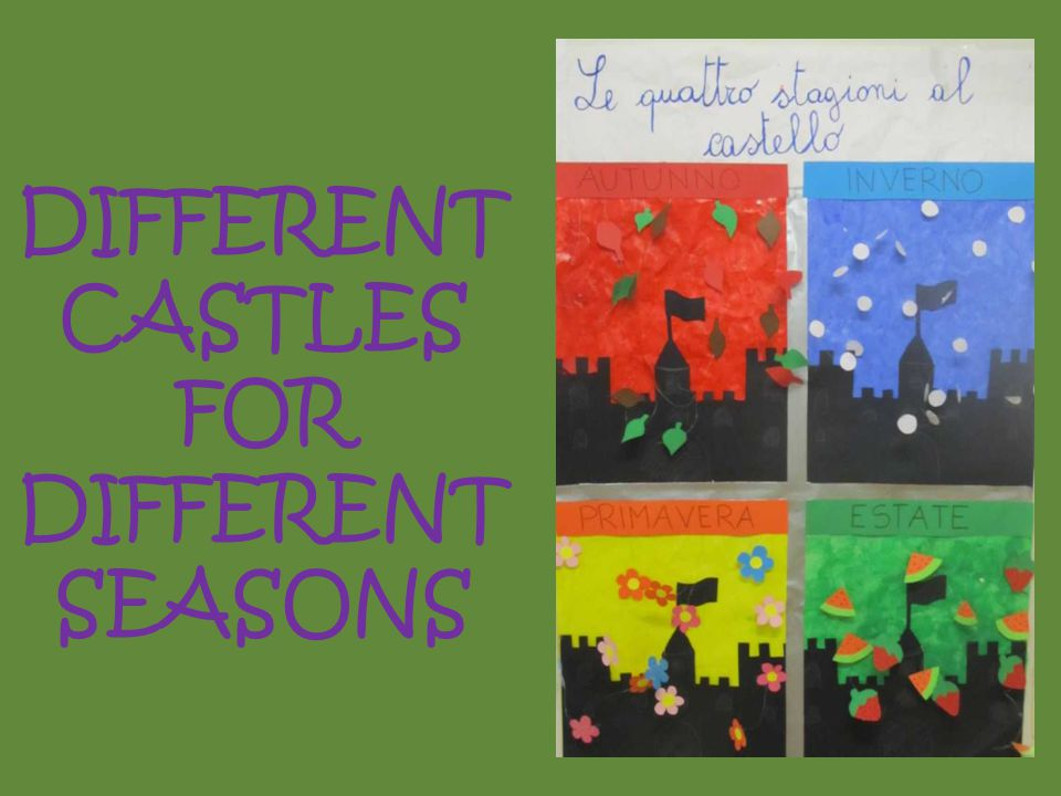 DIFFERENT CASTLES FOR DIFFERENT SEASONS