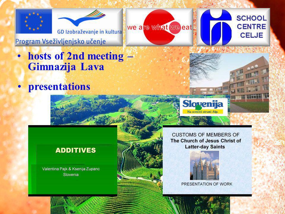 3rd meeting – HTL Wels presentations