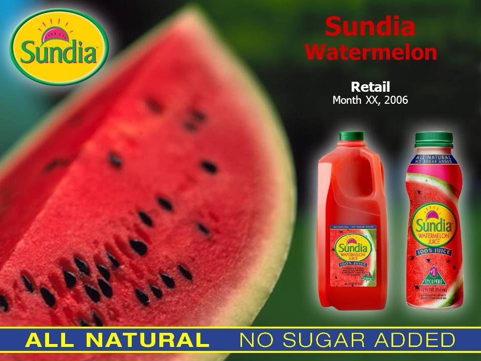 Sundia Watermelon Retail Month XX, 2006