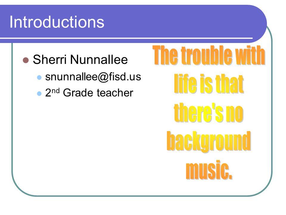 Introductions John Hineman jhineman@fisd.us 8 th Grade teacher