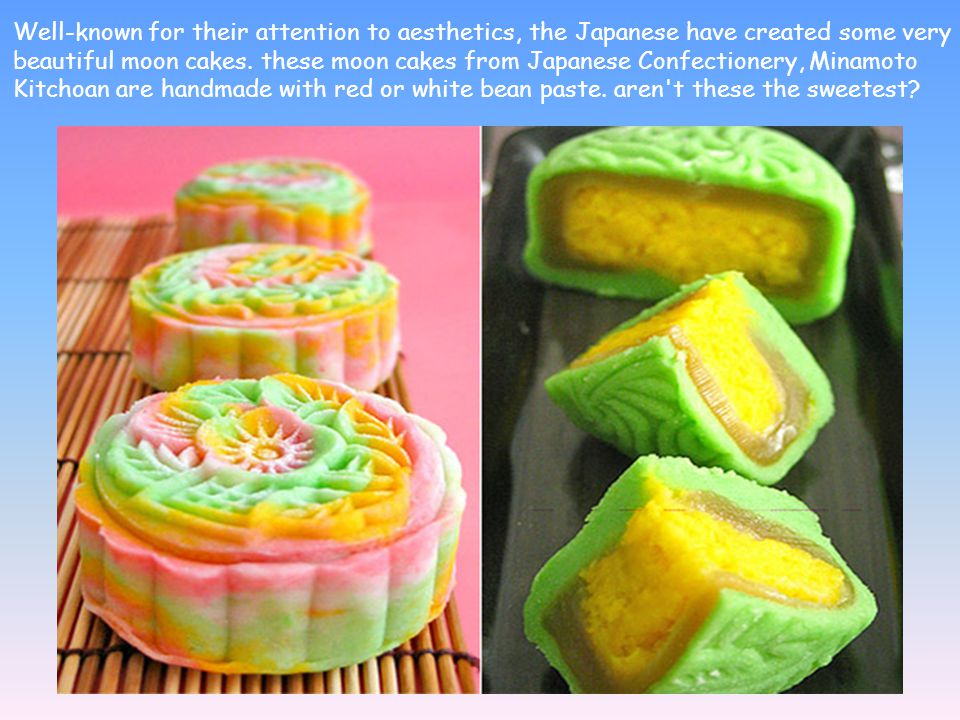 Since then, moon cakes never really did quite stay the same.