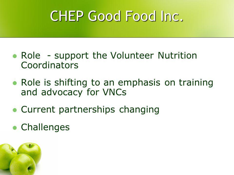 CHEP Good Food Inc.