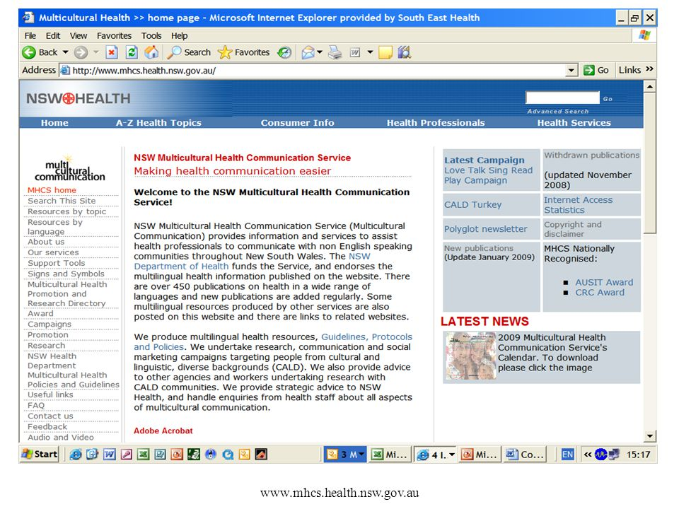 www.mhcs.health.nsw.gov.au