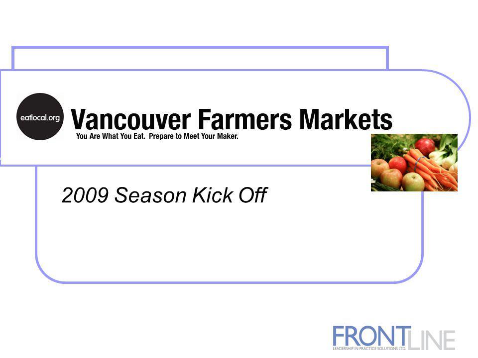 2009 Season Kick Off