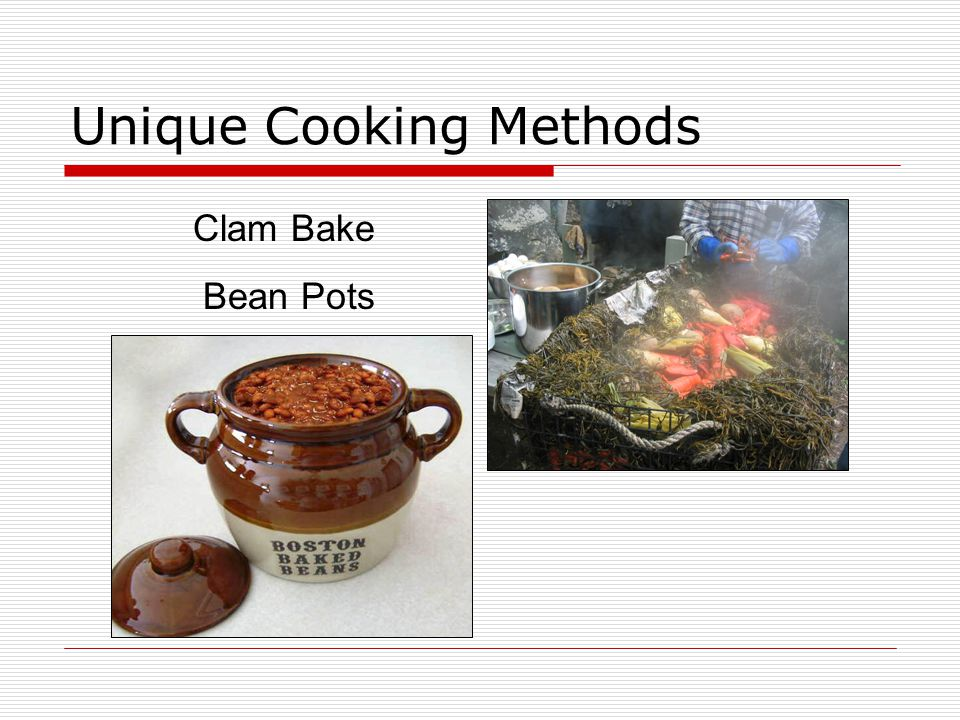 Unique Cooking Methods Clam Bake Bean Pots