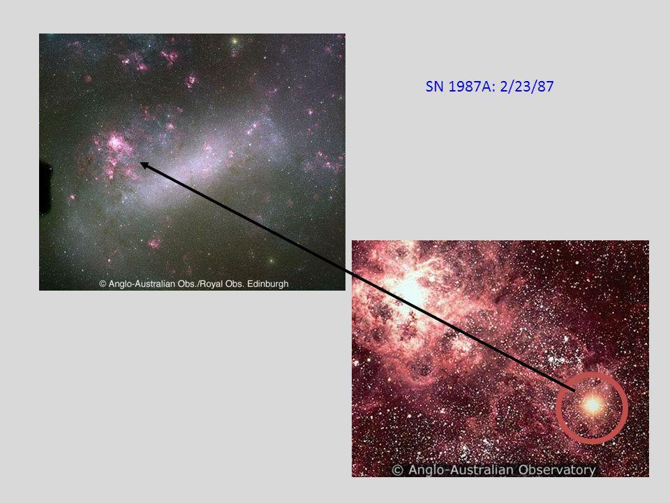 SN 1987A: 2/23/87