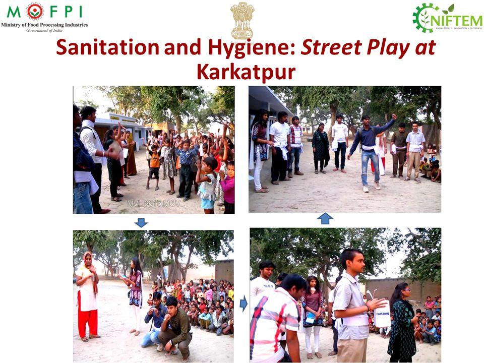 Sanitation and Hygiene: Street Play at Karkatpur