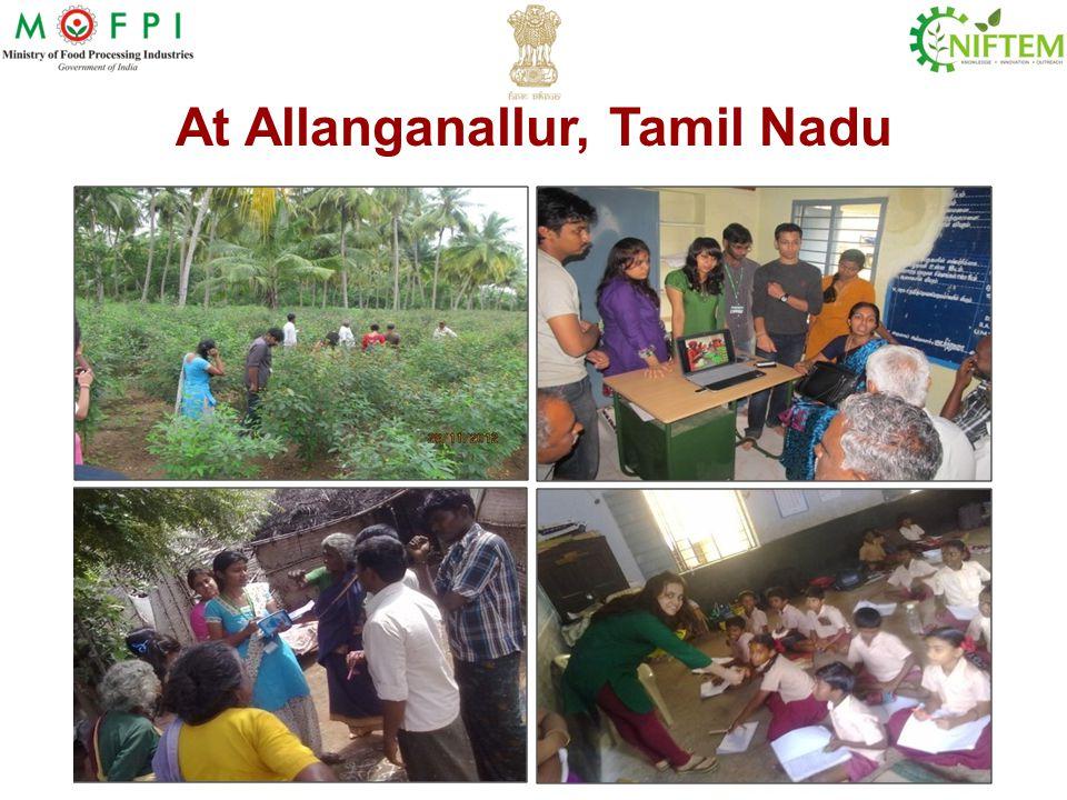 At Allanganallur, Tamil Nadu