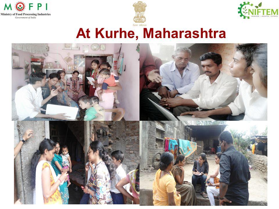At Kurhe, Maharashtra