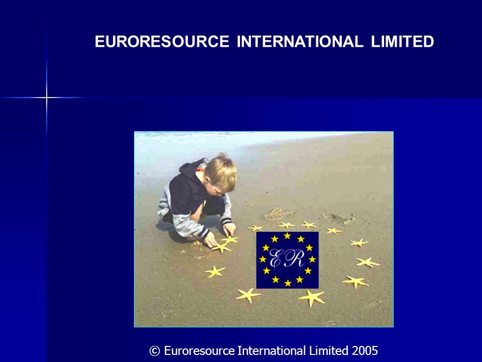 EURORESOURCE INTERNATIONAL LIMITED © Euroresource International Limited 2005