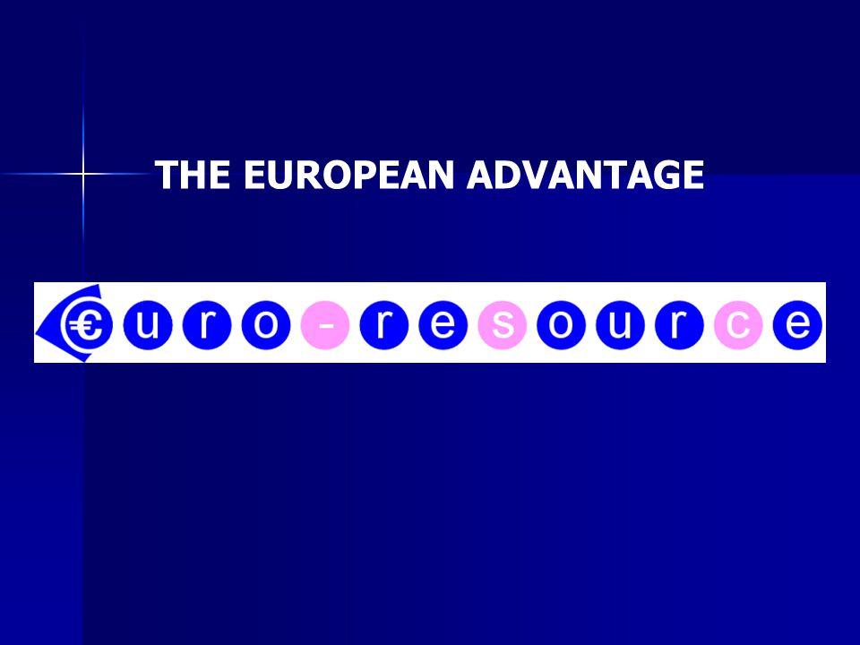 THE EUROPEAN ADVANTAGE