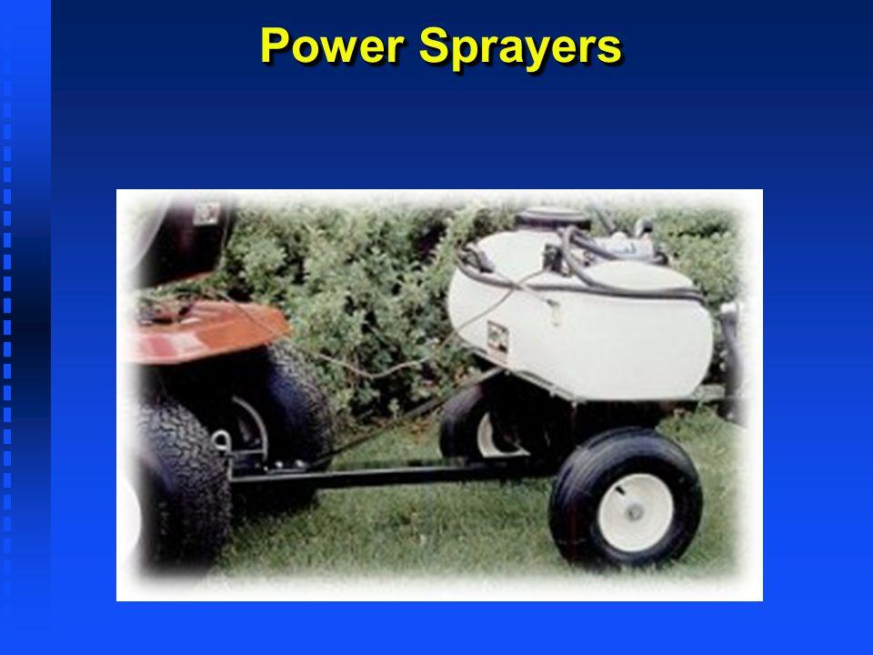 Power Sprayers