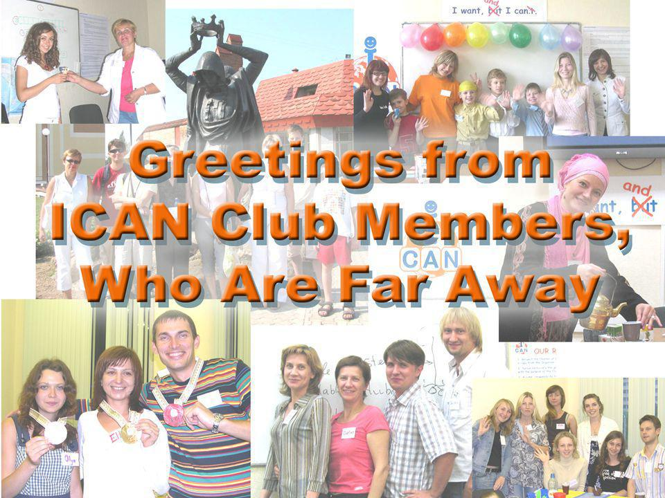 Alex Attended ICAN Club 2009 – 2010