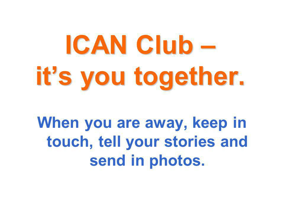 ICAN Club – its you together.