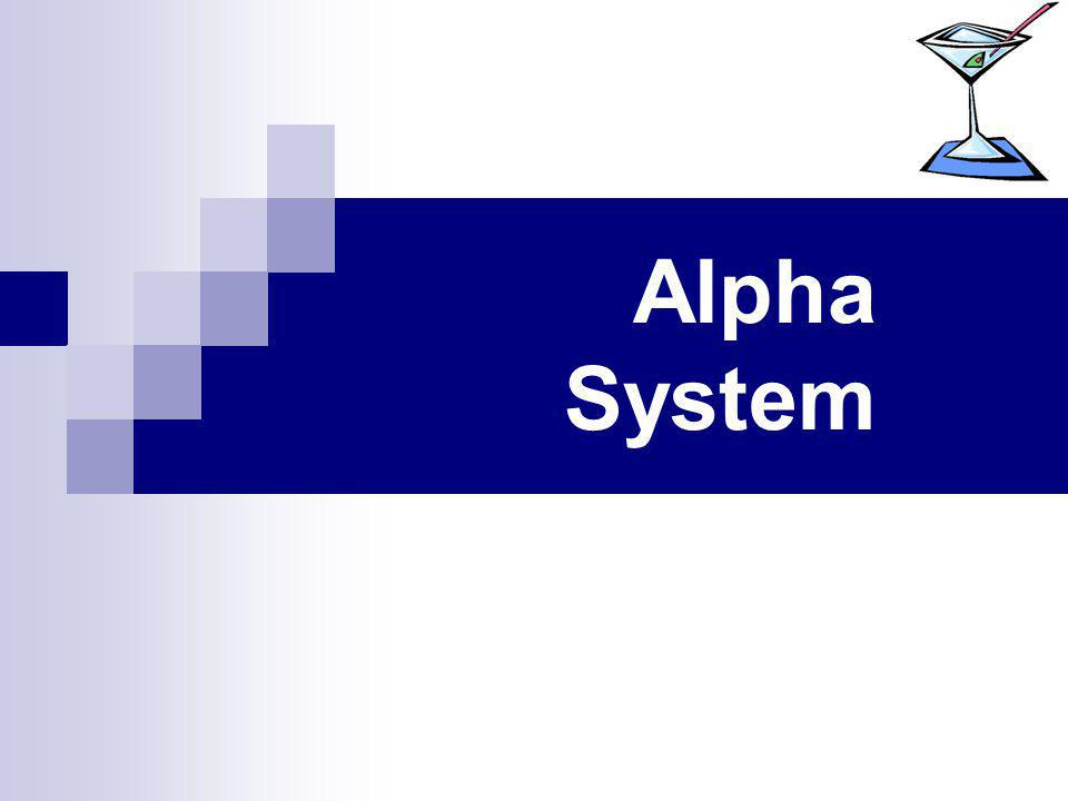Alpha System