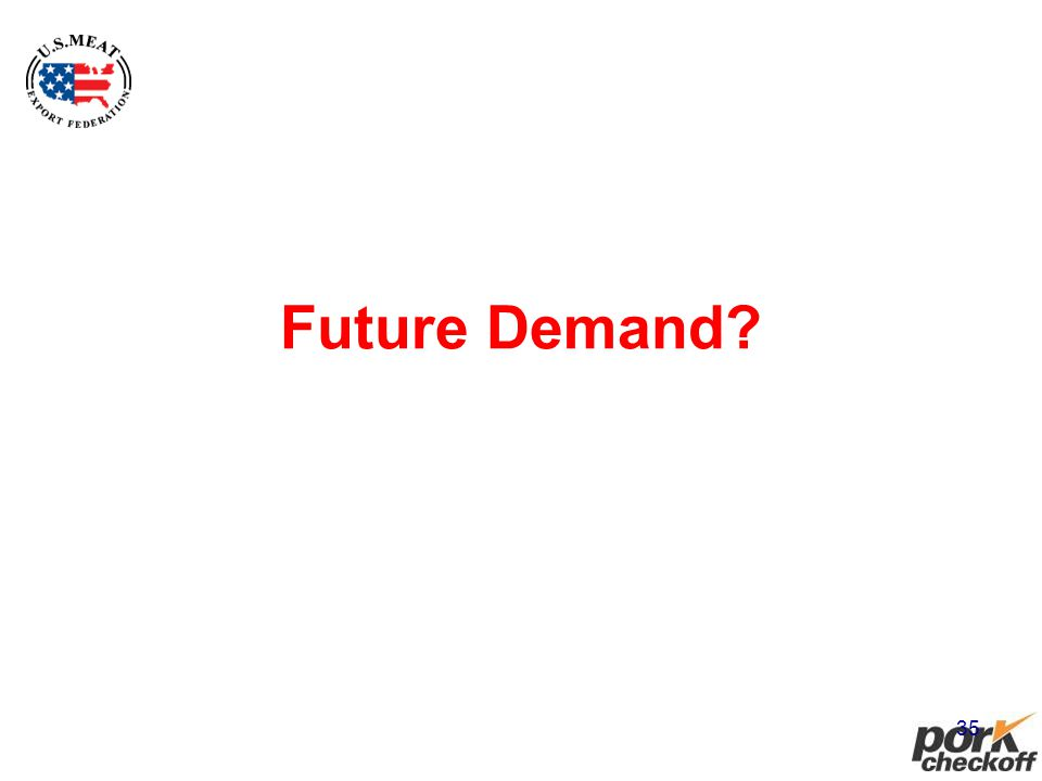 35 Future Demand?