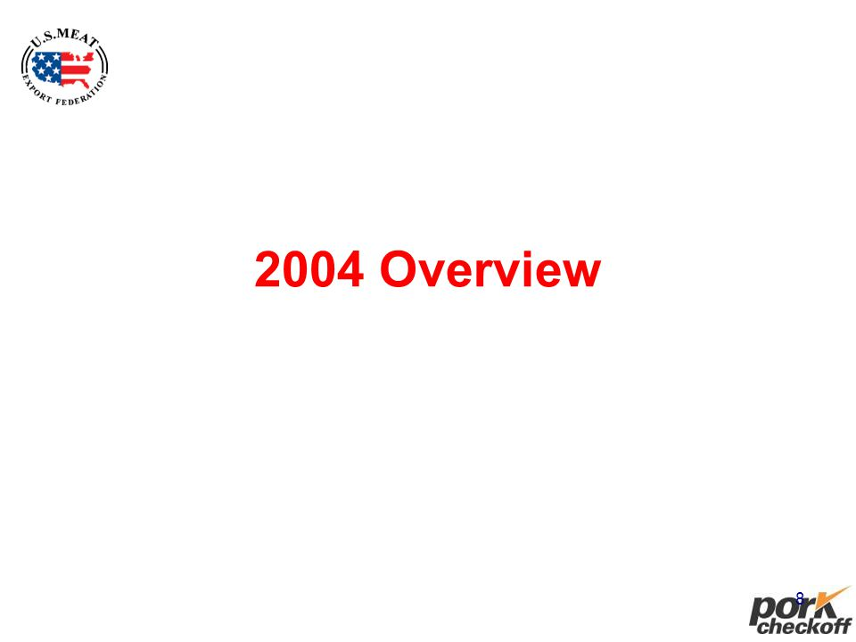 8 2004 Overview