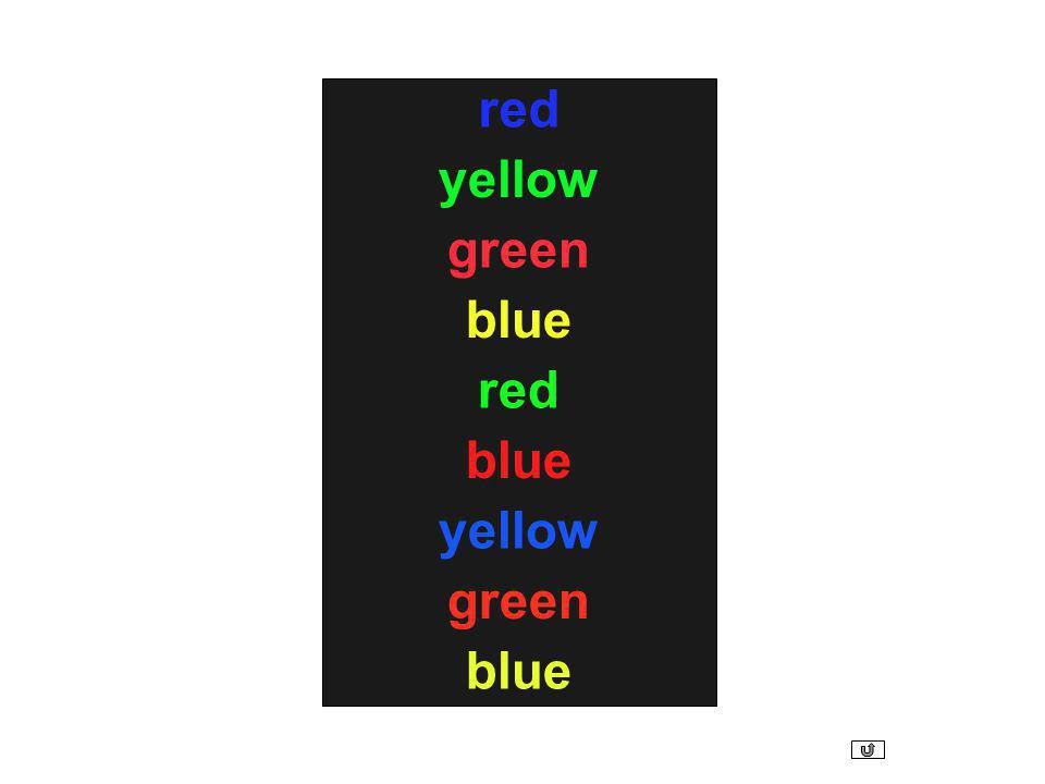 red yellow green blue red blue yellow green blue