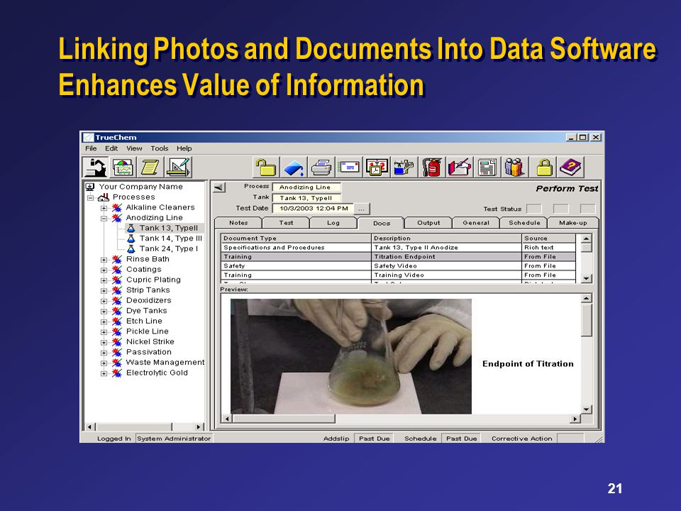 21 Linking Photos and Documents Into Data Software Enhances Value of Information