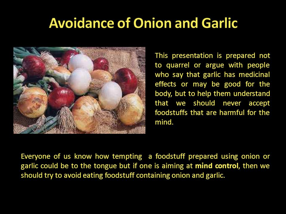 This presentation is prepared not to quarrel or argue with people who say that garlic has medicinal effects or may be good for the body, but to help t