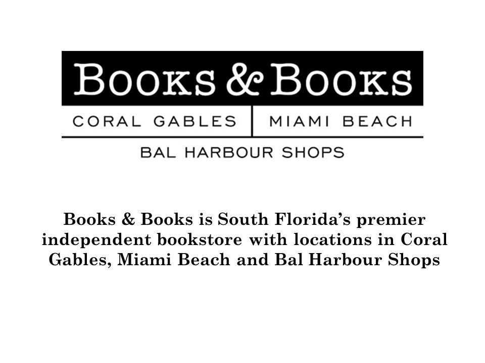 We also publicize on www.booksandbooks.com in the weeks before the event
