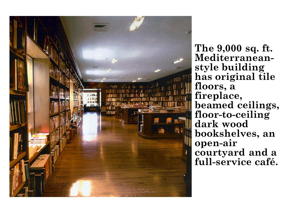 The 9,000 sq. ft.