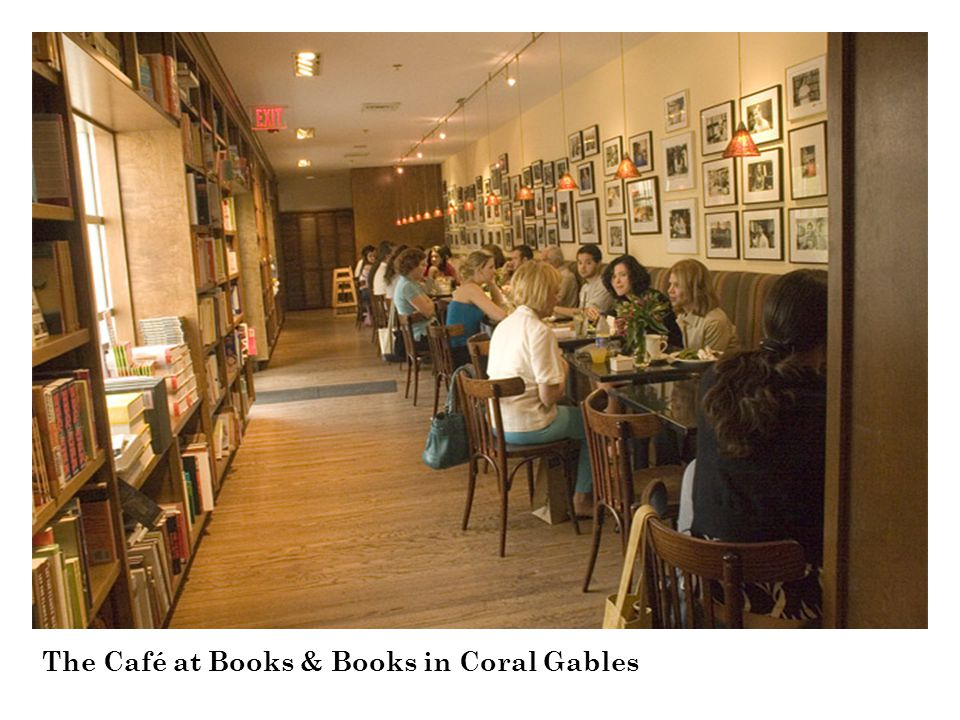 BOOKS & BOOKS 933 Lincoln Road, Miami Beach Opened in 1989, this store is located in the historic Sterling Building in the Art Deco District of Lincoln Road Mall, between Jefferson and Michigan Avenues.