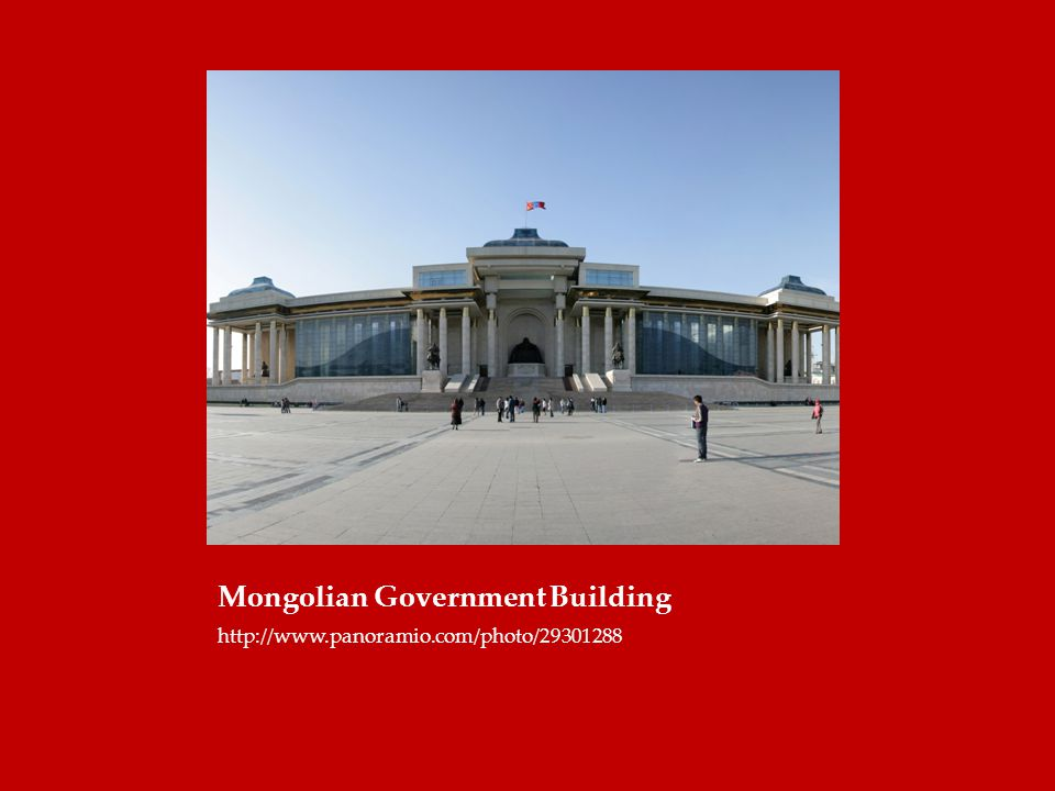 Mongolian Government Building http://www.panoramio.com/photo/29301288