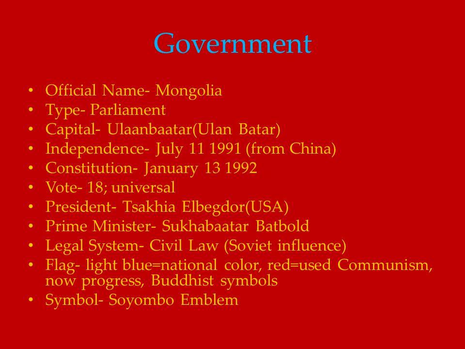 Mongolia Political Map http://www.ezilon.com/maps/asia/mongolia-maps.html
