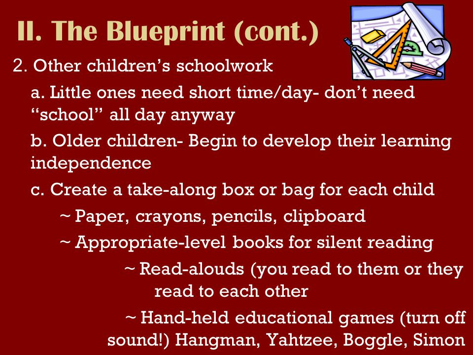 2.Other childrens schoolwork a.